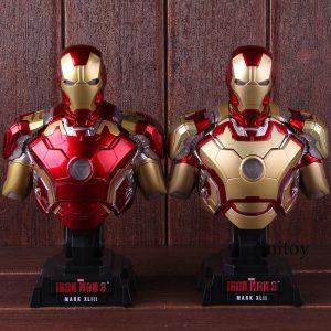 Iron Man Mark XLIII 1:4 Scale Bust Action Figure